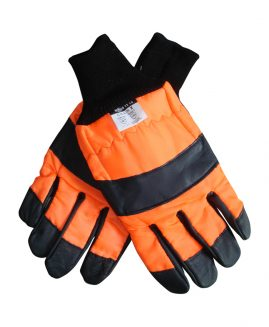 Chainsaw Safety Gloves, Class 1 Left Hand Protected