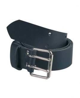 Solidur BLACK LEATHER BELT