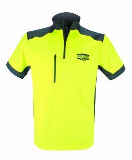 Solidur COOLMAX Tee Shirt Short Sleeve Yellow