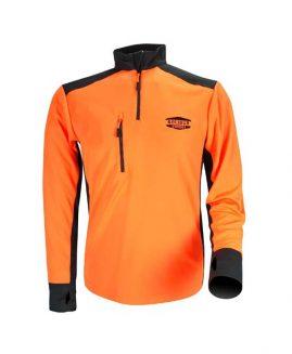 Solidur COOLMAX Tee Shirt Long Sleeve Orange